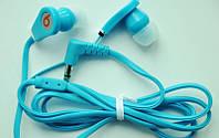 Вакуумные наушники Monster by Dr. Dre (голубые), наушники, гарнитура, аудио техника, аксессуары для телефонов