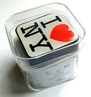 "Mp3 плеер ""I Love New York"" ,наушники + кабель + коробка, оригинальный дизайн, гарнитура"