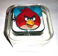 "Mp3 плеер ""angry bird "" , наушники,  кабель, оригинальный дизайн, аудио гарнитура"