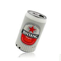 """Мp3 колонки """"Bintang""""с ФМ,  портатиная аудиотехника, электроника, колонки, оригинальный подарок, банка пива"""