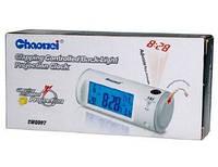 Настольные часы Chaowei 8097 с лазерным проектором,электронные, с лазерным проектором, настольные, электронные
