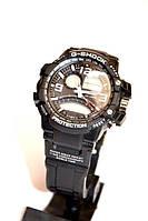 Наручные часы Casio G-Shock WR20M (черные с белым), мужские, электронные, спортивные часы
