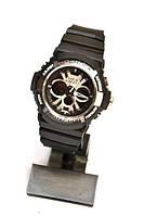 Наручные часы Casio G-Shock GA-200 (черные), многофункциональные, кварцевые, наручные, мужские, спортивные