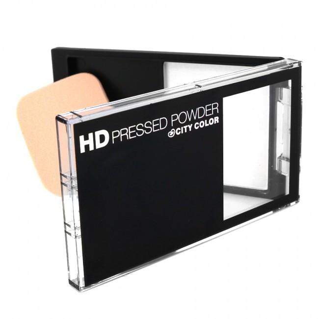 Компактная финишная пудра City Color HD Pressed Powder