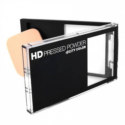Компактная финишная пудра City Color HD Pressed Powder, фото 2