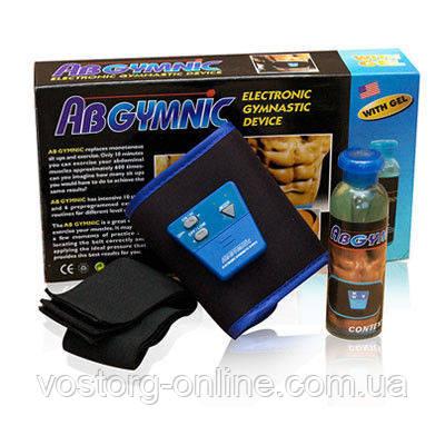 Пояс  AbGymnic + большой Гель , миостимулятор, пояс для похудения, массажеры, красота и здоровье - Интернет-магазин Восторг Онлайн - товары для различных людей! в Киеве
