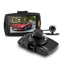Автомобильный видеорегистратор на две камеры G30B FullHD, автотовары, автомобильная видеотехника