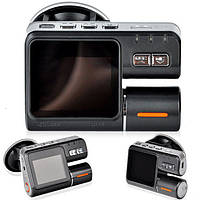 Автомобильный  видеорегистратор DVR i1000 x2 камеры, товары для авто, видеосистемы
