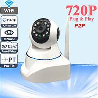 Поворотная IP камера с Wi-Fi , камеры видеонаблюдения