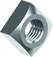 Гайка DIN 557 квадратная с фаской оц., нержавеющая А2 и А4