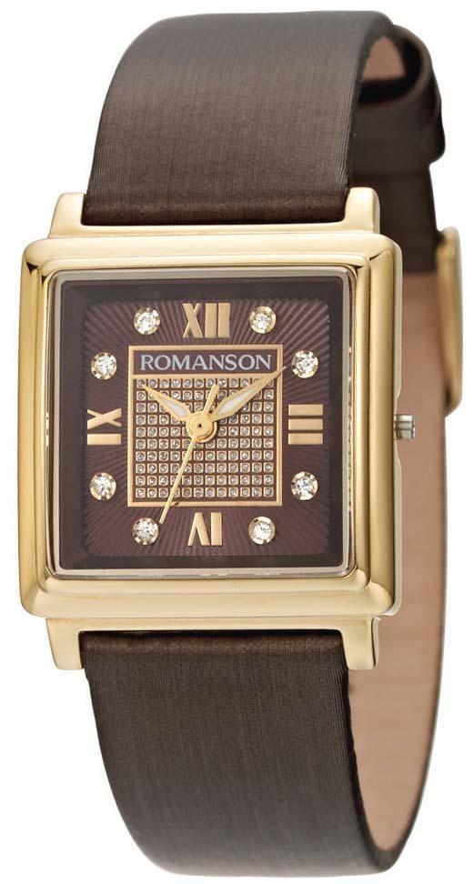 Часы Romanson RL1242LG BROWN