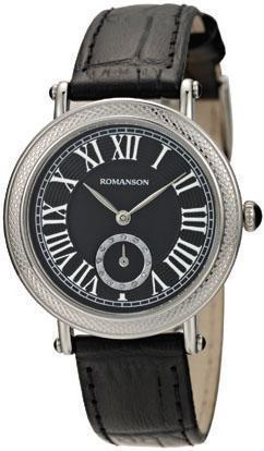 Часы Romanson RL1253BLWH BK