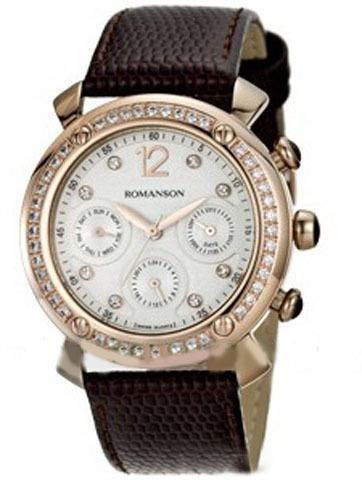 Часы Romanson RL2636QLRG WH