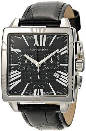 Часы Romanson TL1263HMWH BK