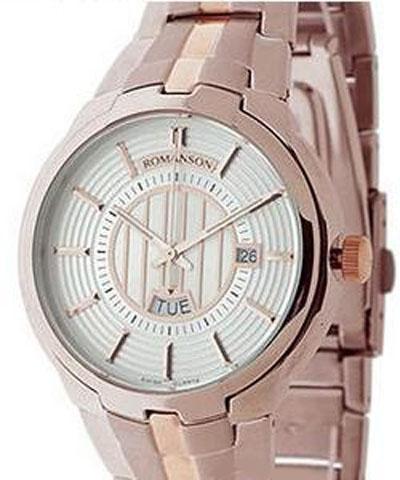 Часы Romanson TM0344MRG WH
