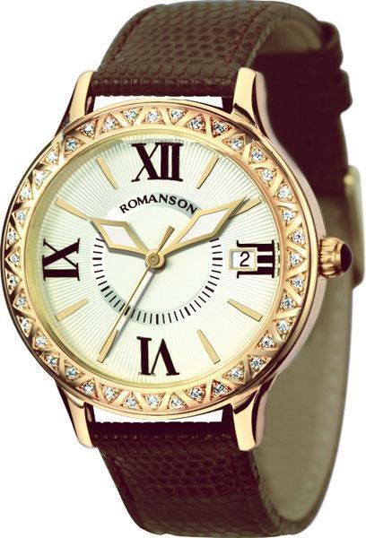Часы Romanson RL1222QLGD WH