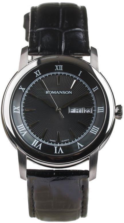 Часы Romanson TL2616MWH BK