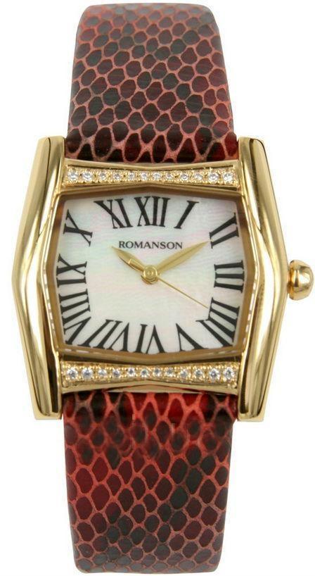 Наручные женские часы Romanson RL2623QLG WH оригинал
