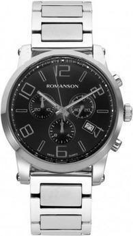 Часы Romanson TM0334HMWH BK