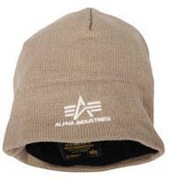 Knit Cap With Fleece Lining