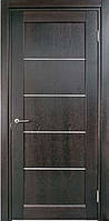 Межкомнатные двери Мадрид 102 (молдинг серебро) Fado tint