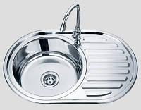 Кухонная мойка Sofia 770x500x160 D7750SL матовая, фото 1