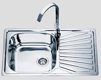 Кухонная мойка 7848 см врезная Sofia металл 0,8 мм матовая (сатин) глубина 18 см