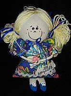 """Текстильная игрушка ручной работы """"Цветочный ангел"""", (желтые волосы), 20 см., 95/85 (цена за 1 шт. + 10 гр.)"""