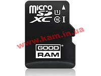 Карта памяти Goodram Class 10 UHS| 128GB microSDXC + SD adapter (M1AA-1280R11)