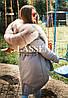 Парка с мехом финского песца L41, фото 4