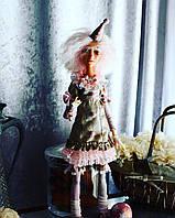 Кукла из полимерной глины Арлекина коллекционная 🙌 Collection doll Arlecina
