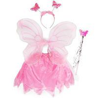 Детский карнавальный костюм Бабочки с юбкой
