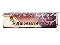 Мазь лыжная в бруске по 40г от -3°С до -7°С (синяя лыжная мазь).(Украина)