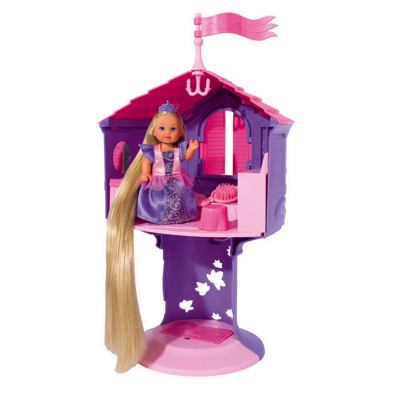 """Ляльки пупси «Simba» (5731268) Еві - Рапунцель в башті """"Rapunzel Tower"""""""