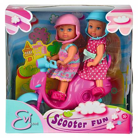 """Куклы и пупсы «Simba» (5730485) Эви в путешествии на скутере """"Scooter Fun"""", фото 2"""