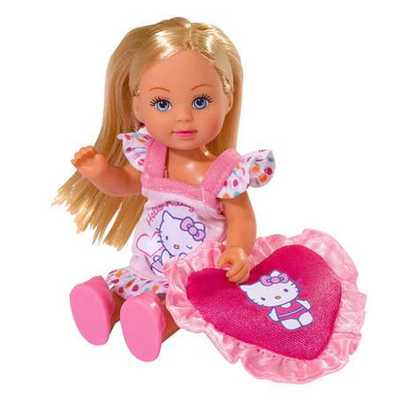 "Куклы и пупсы «Simba» (5732787) Эви на пижамной вечеринке ""Hello Kitty"" (вид 2), фото 2"