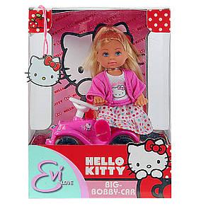 "Куклы и пупсы «Simba» (5730973) Эви с машинкой Big Bobby Car ""Hello Kitty"" (вид 1), фото 2"