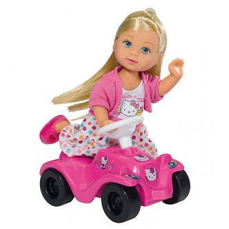 "Куклы и пупсы «Simba» (5730973) Эви с машинкой Big Bobby Car ""Hello Kitty"" (вид 2), фото 2"