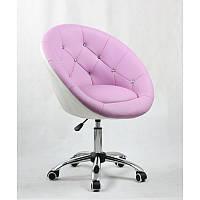 Кресло косметическое  HC-8516K Лавандовий