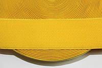 Резинка декоративная 60мм. желтый , фото 1