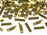Пневмо-Хлопушка 80см. золотое конфетти