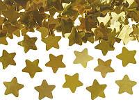 Пневмо-Хлопушка 60см. золотые звезды