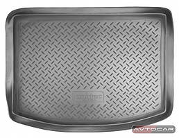 Коврик в багажник Mazda 3 с 2003-2009 / цвет:черный