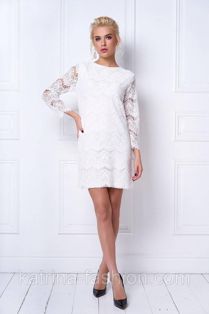 Платье женское кружевное фото