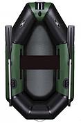 Лодка Aquastar зеленая В-210