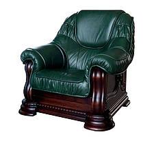 """Класичне шкіряне крісло """"Grizly lite"""" (Грізлі лайт), фото 3"""
