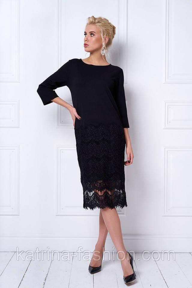 574bb7ef418 Женское праздничное прямое платье с кружевом (6 цветов)