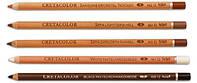 Набор карандашей для рисунка Сангина масляная средняя 3 шт. Cretacolor