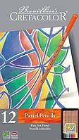 Набор пастельных карандашей, Fine Art Pastel, 12шт., мет. упаковка, Cretacolor