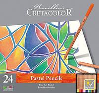 Набор пастельных карандашей Fine Art Pastel 24шт. мет упаковка Cretacolor